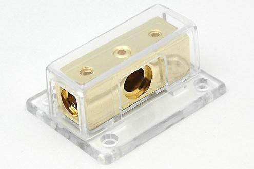 Verteilerblock KV-03G 1x 25 mm² / 2x 25 mm²