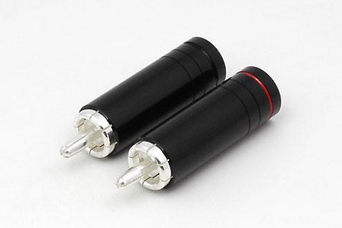 2xCinchstecker CS-1033S bis 8,5 mm Kabel